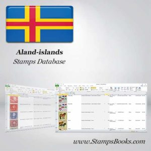 Aland islands Stamps dataBase