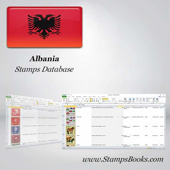 Albania Stamps dataBase