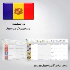 Andorra Stamps dataBase