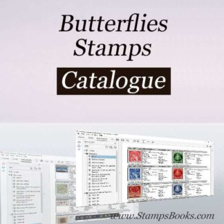 Butterflies stamps