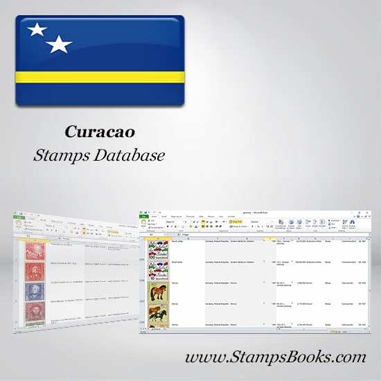 Curacao Stamps dataBase