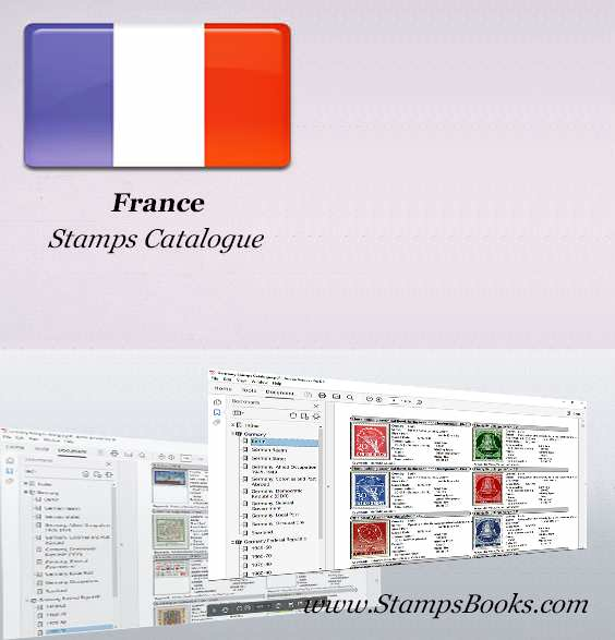 France Stamps Catalogue