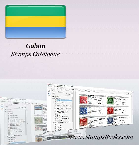 Gabon Stamps Catalogue