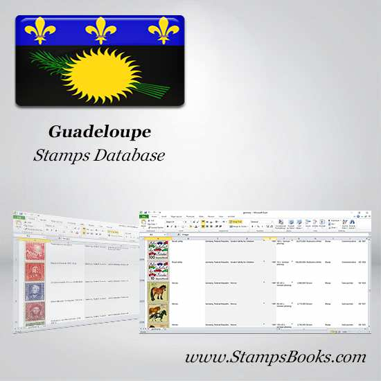 Guadeloupe Stamps dataBase