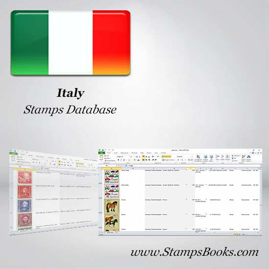 Italy Stamps dataBase