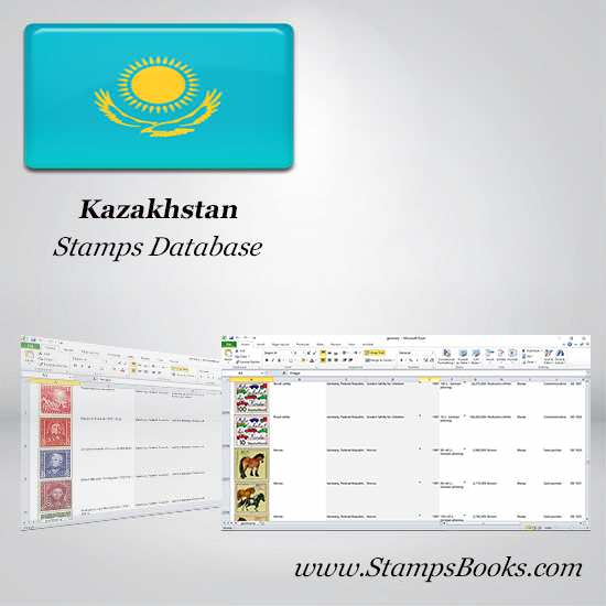 Kazakhstan Stamps dataBase