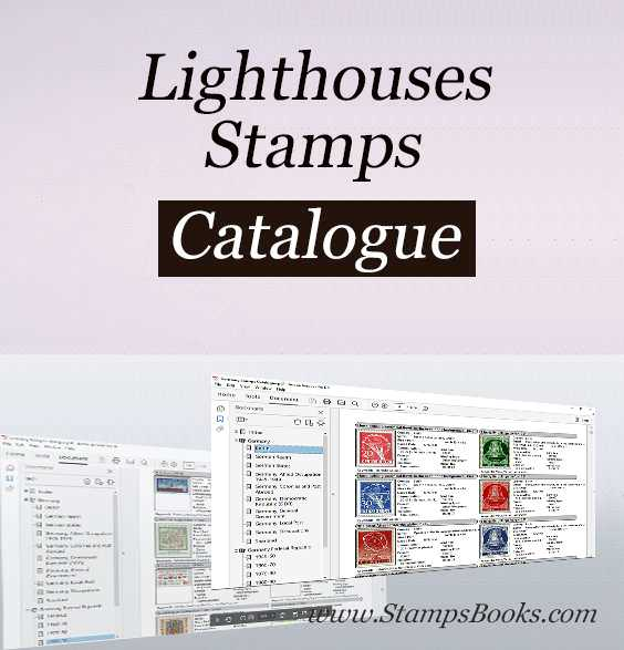 Lighthouses stamps