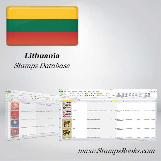 Lithuania Stamps dataBase