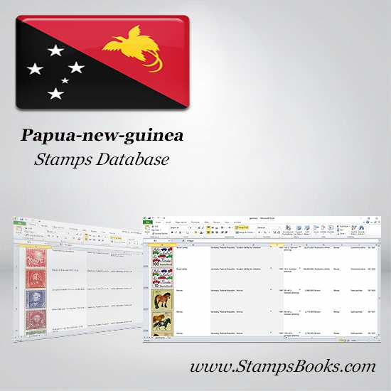 Papua new guinea Stamps dataBase