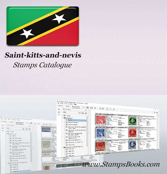 Saint kitts and nevis Stamps Catalogue