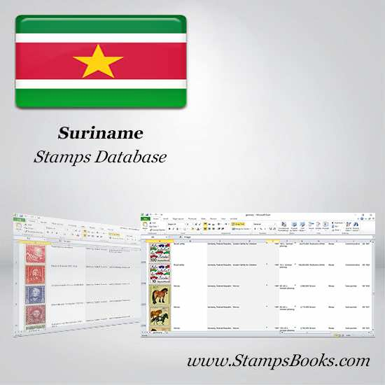 Suriname Stamps dataBase