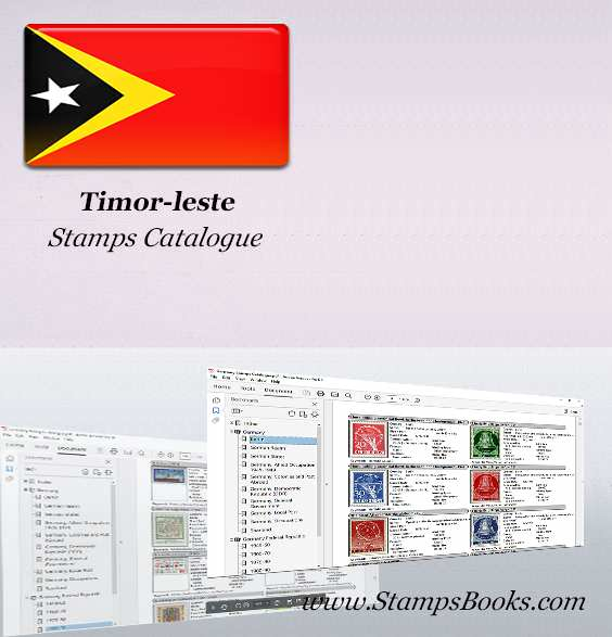 Timor leste Stamps Catalogue