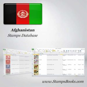 Afghanistan Briefmarken DATABASE