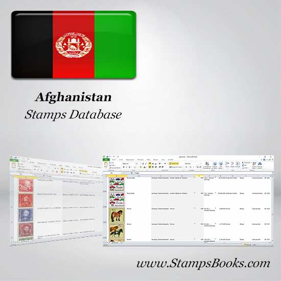 Afghanistan Stamps dataBase