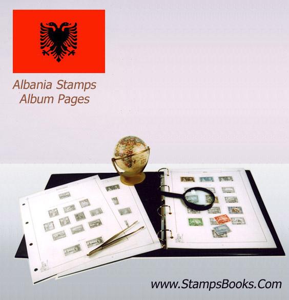Albania Stamps album