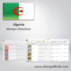 Algerien Briefmarken DATABASE