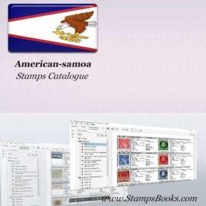 American samoa Stamps Catalogue