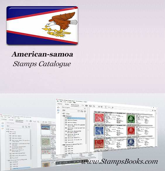 American samoa Stamps Catalogue