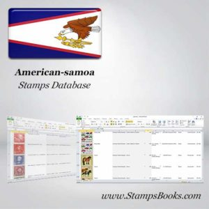 Samoa Americana Sellos de base de datos