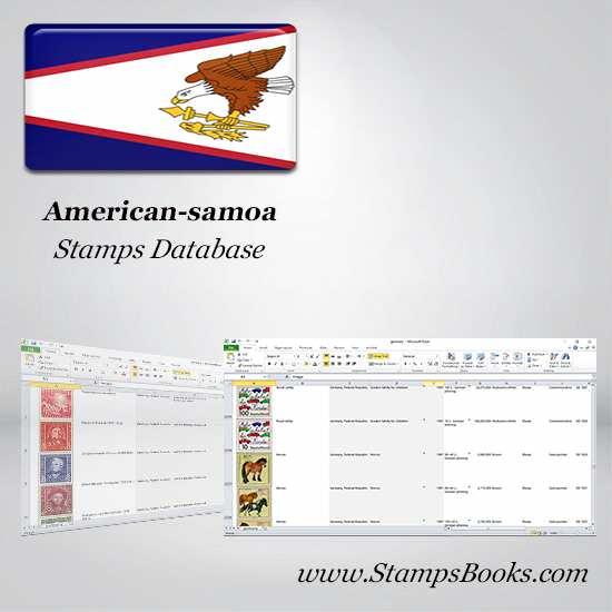 American samoa Stamps dataBase