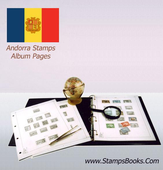 Andorra stamps