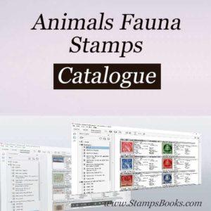 Animals Fauna stamps