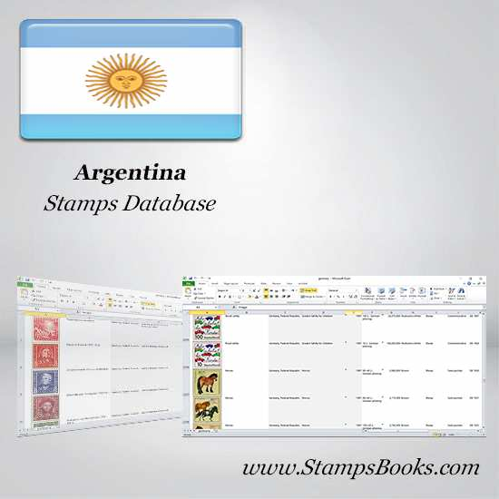 Argentina Stamps dataBase