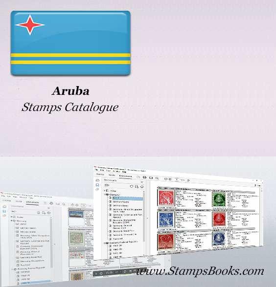Aruba Stamps Catalogue