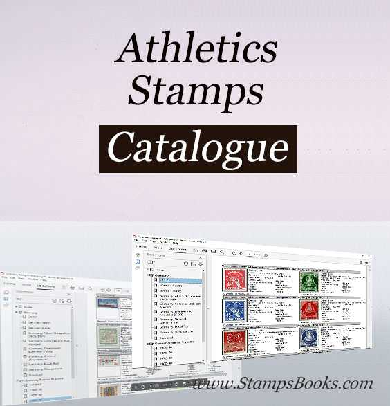 Athletics stamps