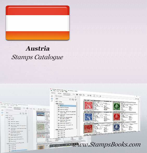 Austria Stamps Catalogue
