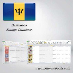 Barbados Briefmarken DATABASE