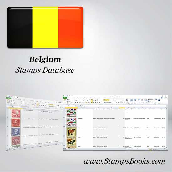 Belgium Stamps dataBase