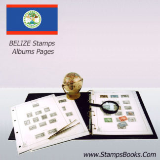Belize Timbres Album