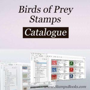 Birds of Prey stamps