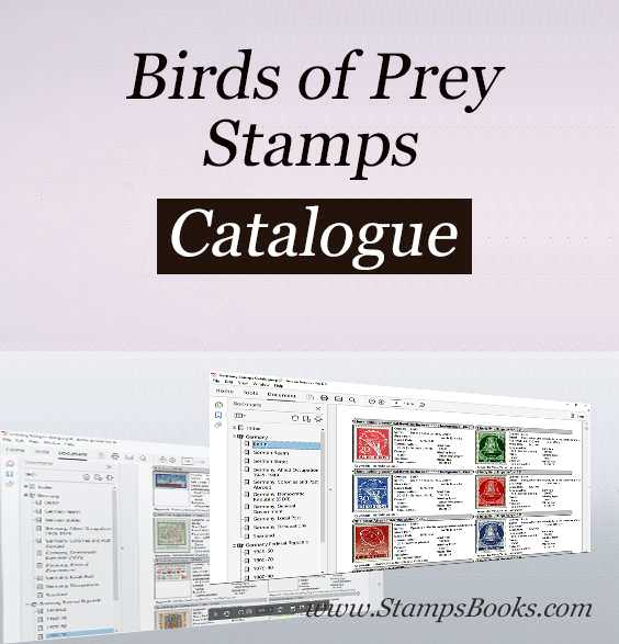 Birds of Prey stamps