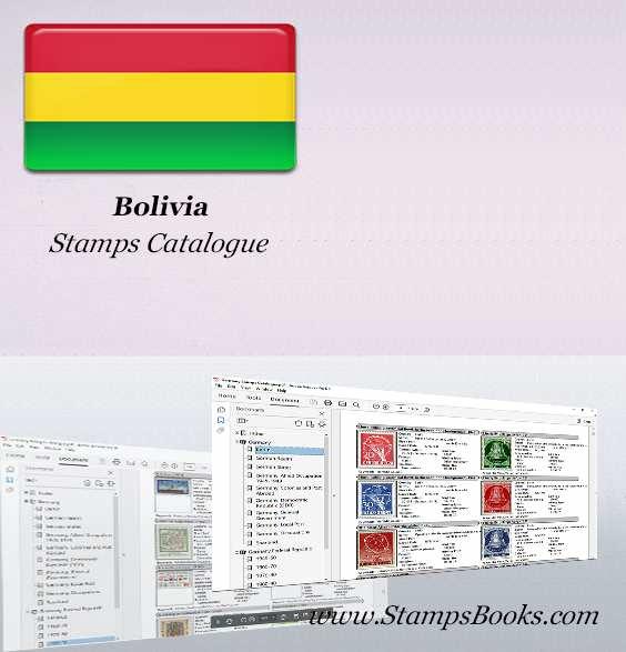 Bolivia Stamps Catalogue