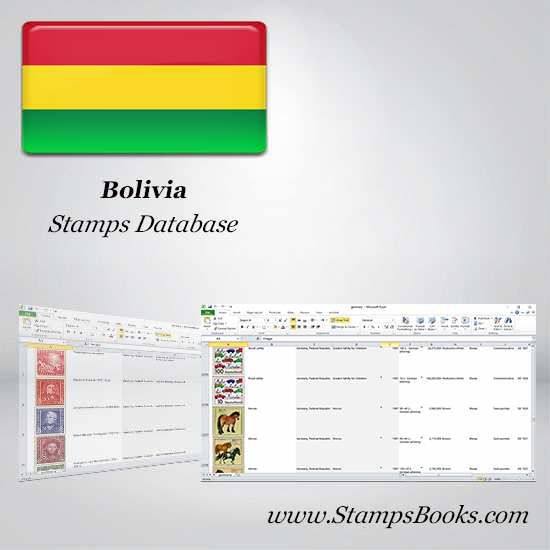 Bolivia Stamps dataBase