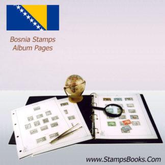 Bosnia stamps