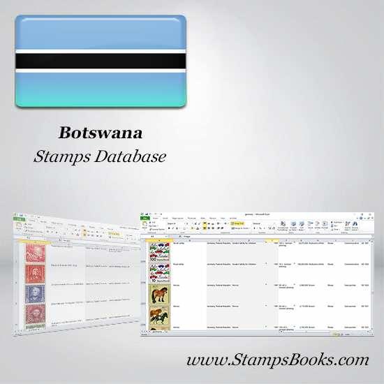 Botswana Stamps dataBase