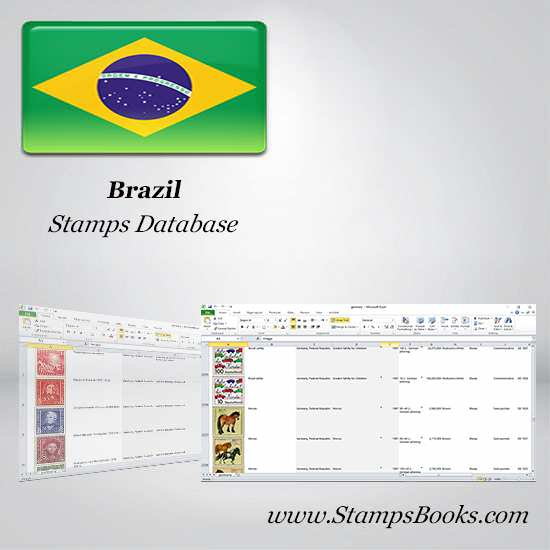 Brazil Stamps dataBase