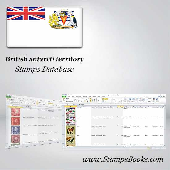 British antarctic territory Stamps dataBase