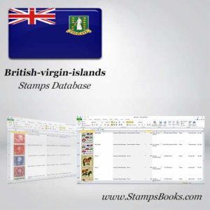 British virgin islands Stamps dataBase
