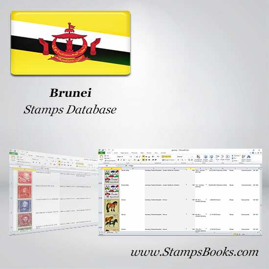 Brunei Stamps dataBase