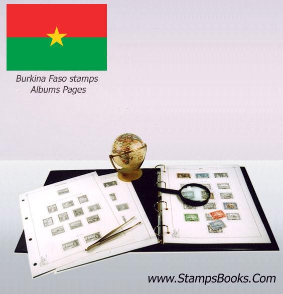 Burkina Faso stamps