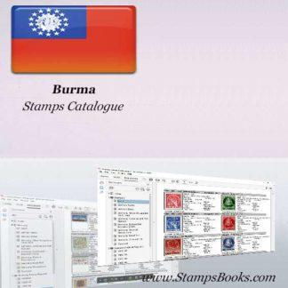 Burma Stamps Catalogue