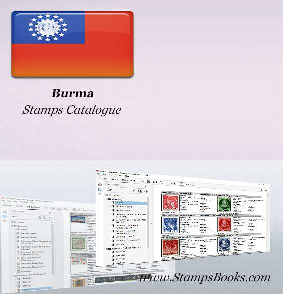 Burma Stamps Catalogue