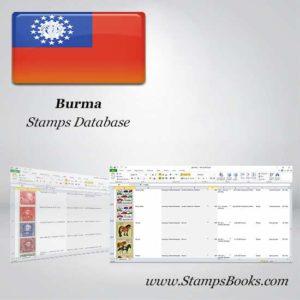 Burma Stamps dataBase