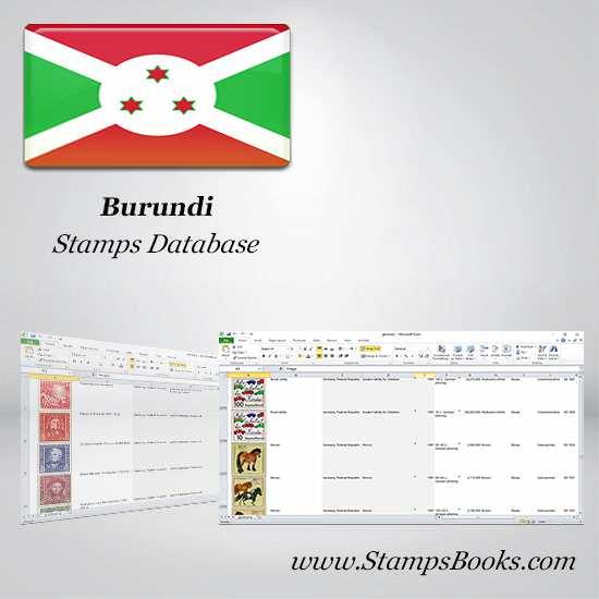 Burundi Stamps dataBase