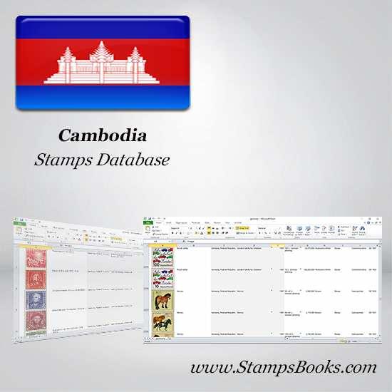 Cambodia Stamps dataBase