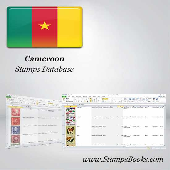 Cameroon Stamps dataBase